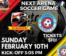 New Mexico Runners vs CO Rumble Arena Soccer